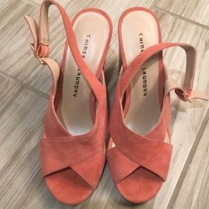 Chinese Laundry high heeled sandals